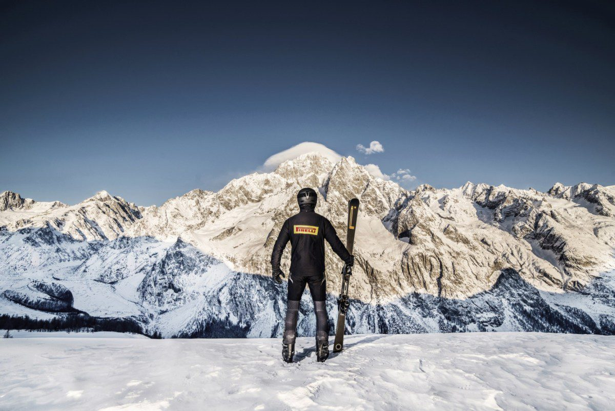 Pirelli Design:SCI滑雪板