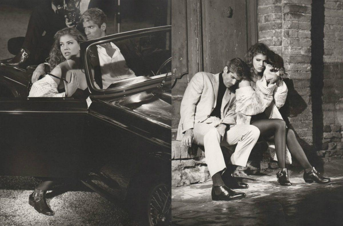 Cesare Paciotti:1992年广告大片