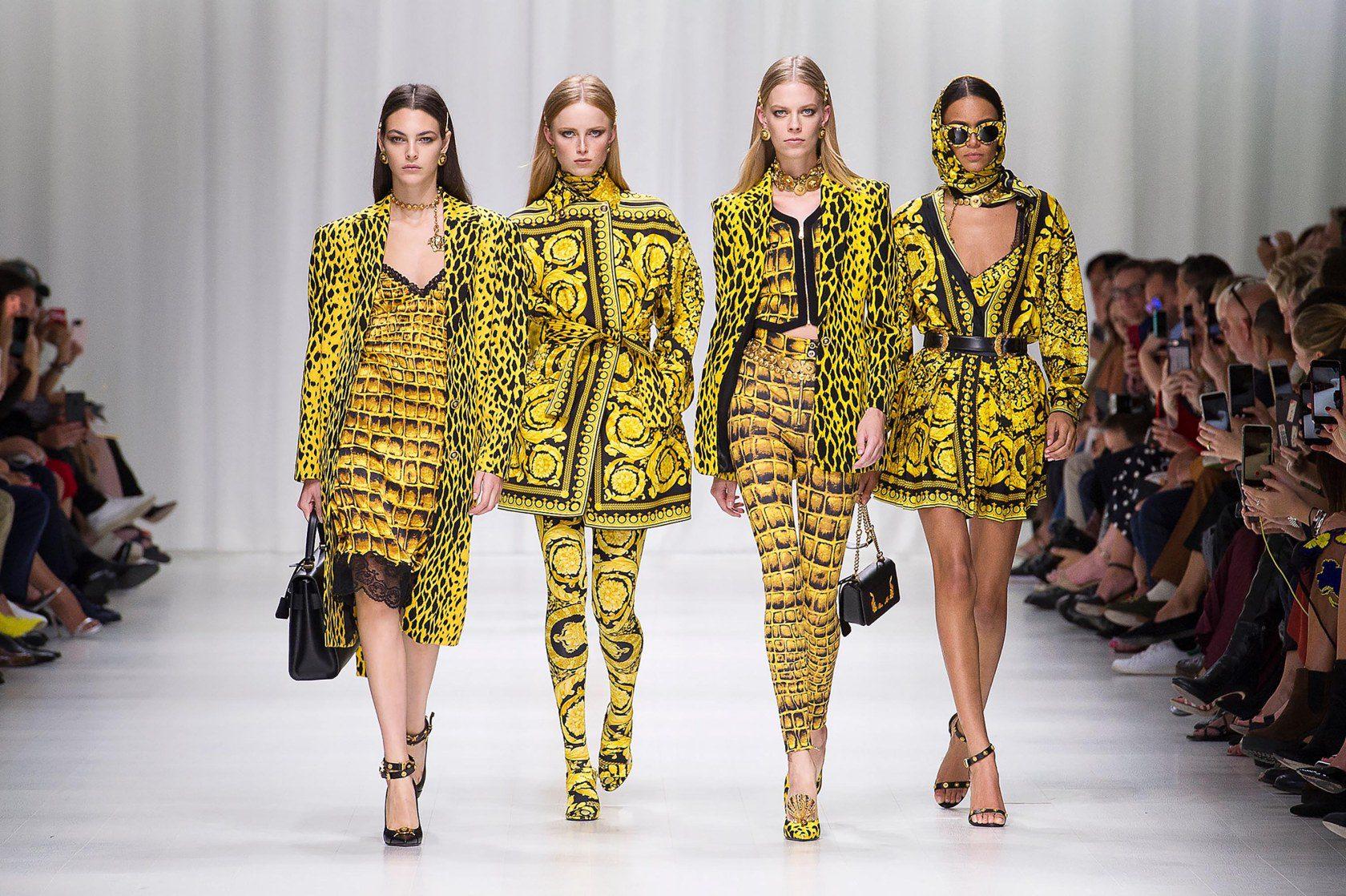 Versace:2018春夏秀场