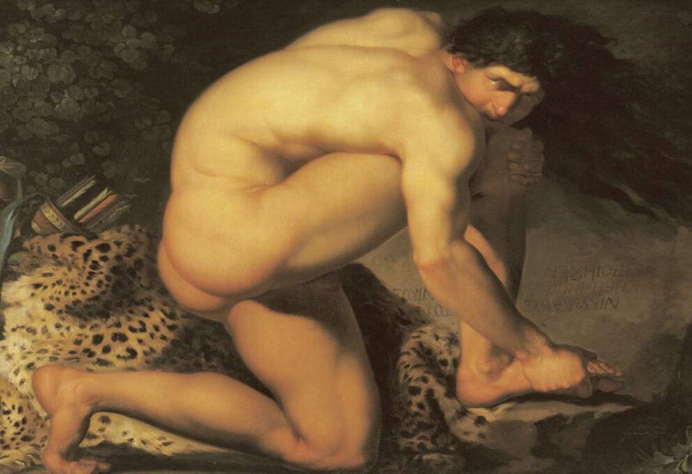 Abildgaard, Nicolaj Abraham. Pittore danese neoclassico