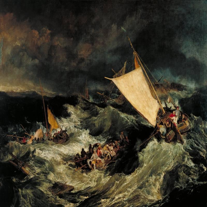 Il Naufragio - J.M.W. Turner