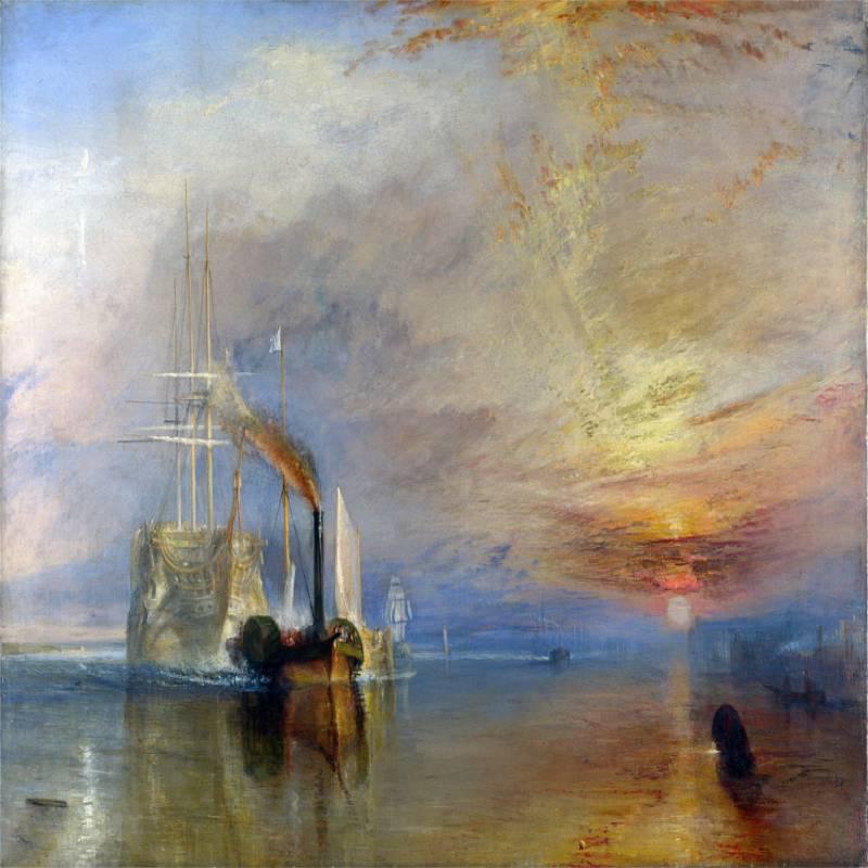 La valorosa Téméraire - Turner