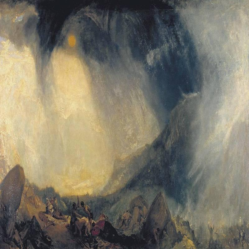 Tempesta di neve - J.MW. Turner