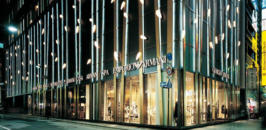 Giorgio Armani:日本概念店