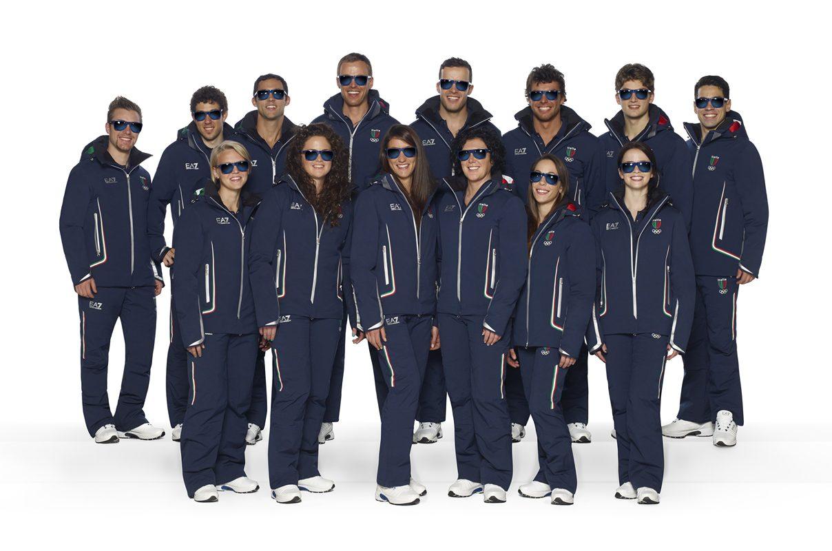 Giorgio Armani:品牌为意大利奥林匹克国家队设计的队服