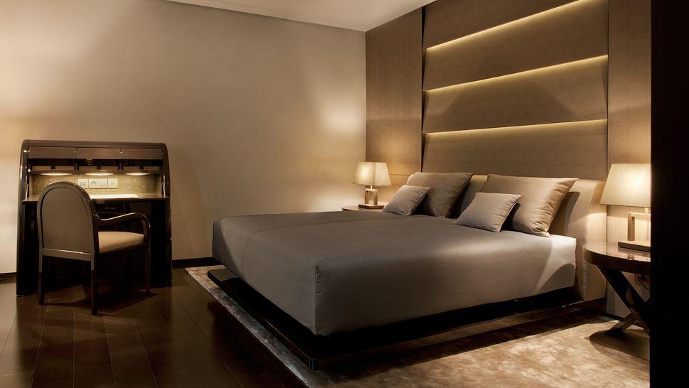Giorgio Armani:品牌酒店客房内部