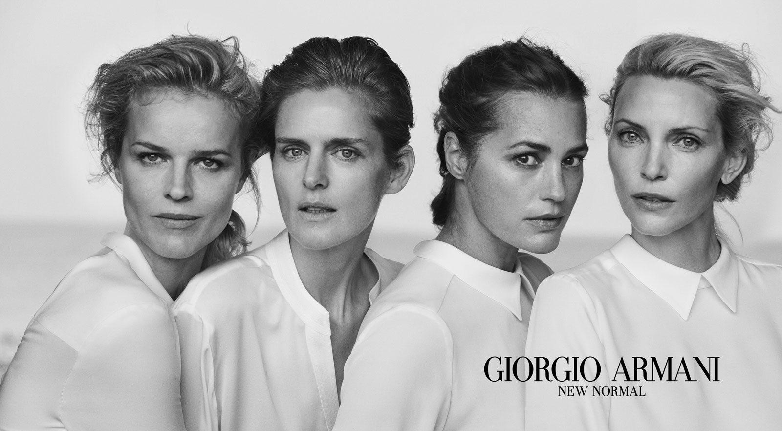 Giorgio Armani:New Normal系列广告