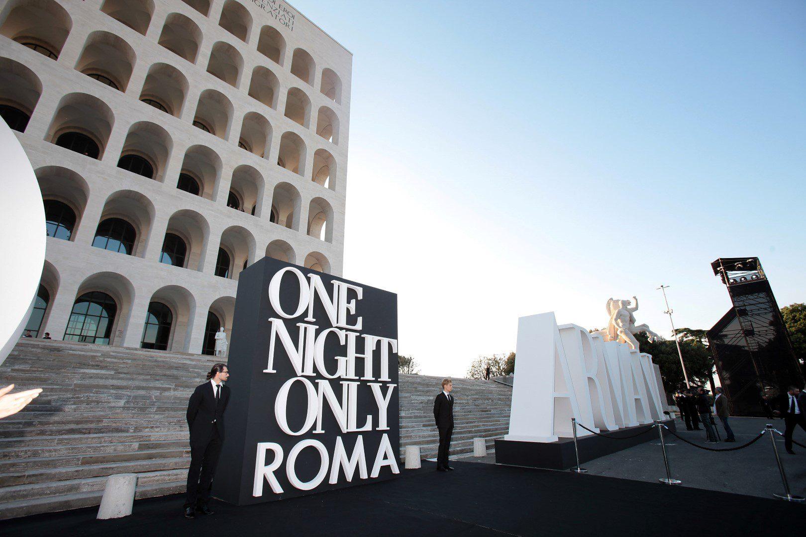 Giorgio Armani:唯有今宵系列活动在罗马举办