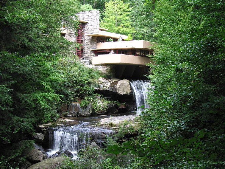 Architettura sull 39 acqua nella giornata mondiale dell 39 acqua for Casa sulla cascata frank lloyd wright
