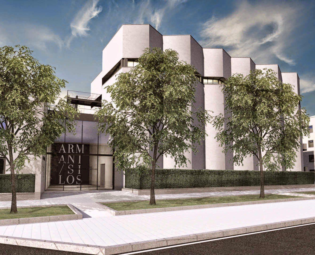 Armani silos la collaborazione con la scuola del design for Design dello spazio esterno