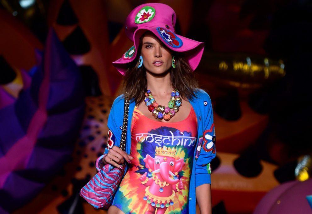 Il rivoluzionario fashion show Moschino