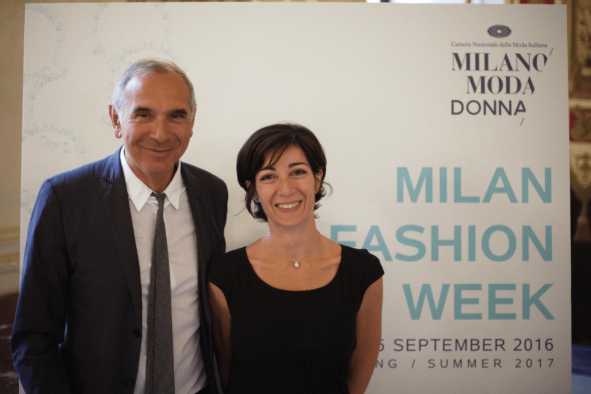 Presentato il programma della milano fashion week for Master di moda milano