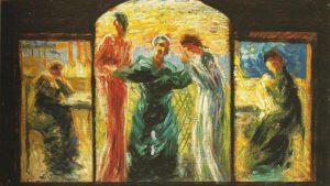 U. Boccioni: una tela del 1907-1908, Collezione privata, courtesy Galleria Tega