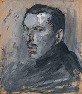 """U. Boccioni, """"Autoritratto"""", Atlante delle immagini 2, 1895.1909, tav. A3r. Verona, Biblioteca Civica, Fondo Callegari-Boccioni"""