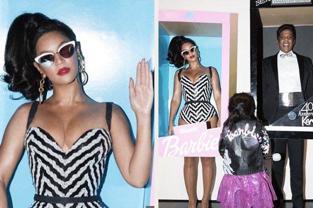 Beyonce e Jay Z in versione Barbie e Ken per Halloween