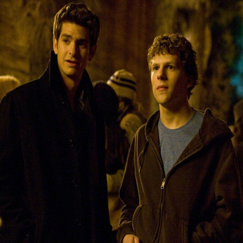 the social network stasera in tv