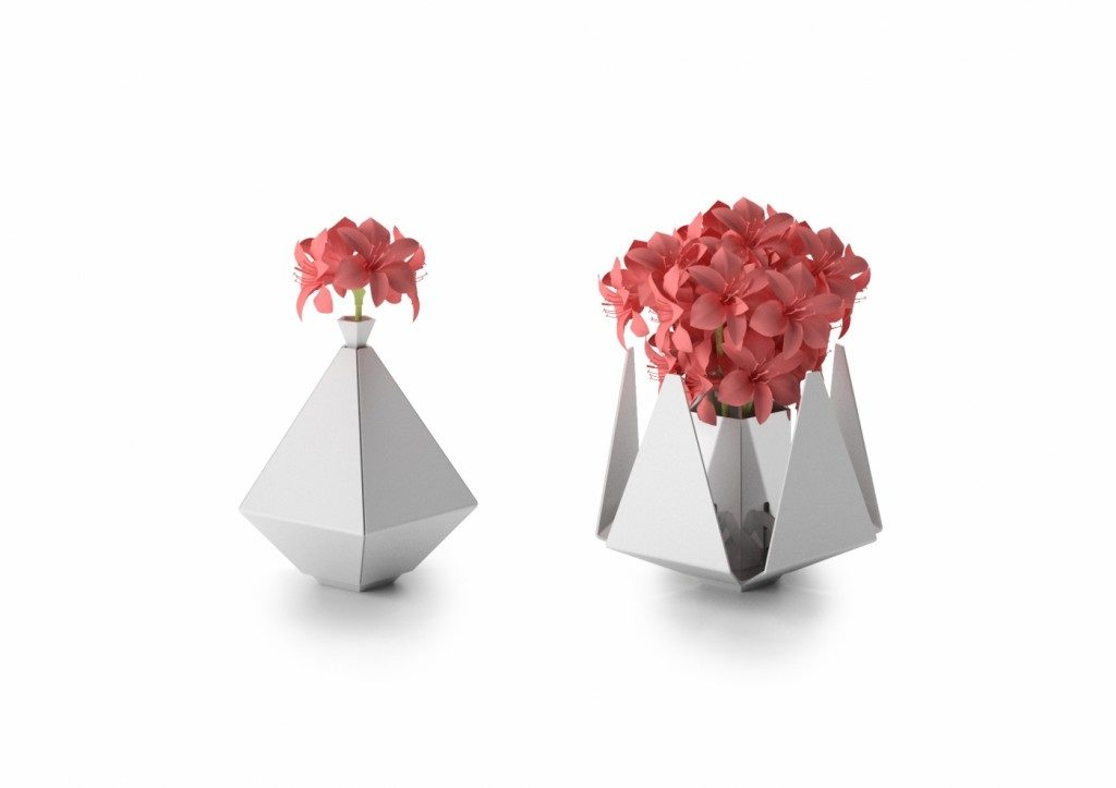 Design: FLOWER METAL BY YMV RAFFINATEZZA METALLICA, Yokohama Maker Village