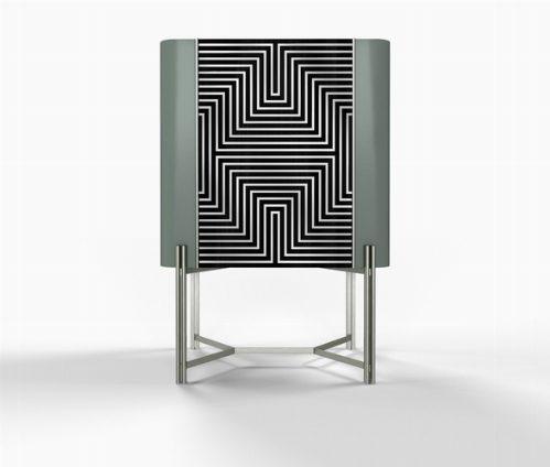 Design: SOFTHOUSE CONTAMINA IL DESIGN CON L'OP-ART DEGLI ANNI 60/70