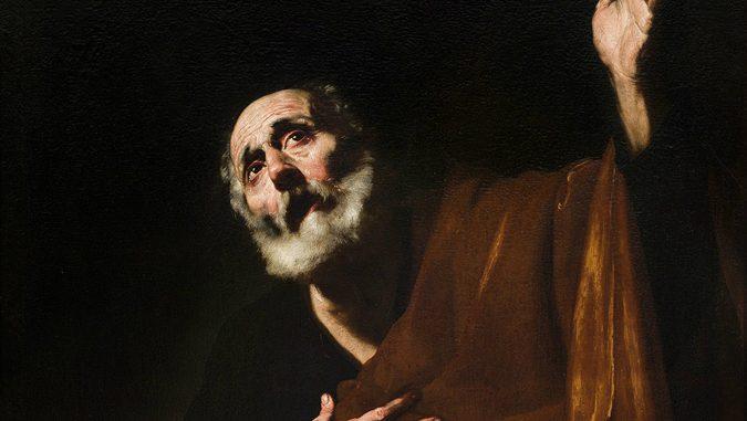 Arte: I santi d'Italia: la pittura devota tra Tiziano, Guercino e Carlo Maratta, De Ribera San Pietro penitente