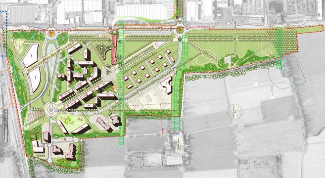 Arte: Milano 4you è il nuovo concetto di Smart City, Planimetria generale e progettazione del verde