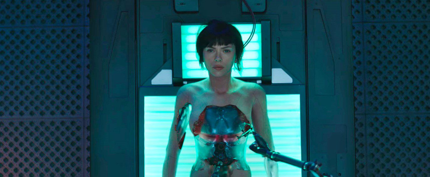 Ghost in the Shell Scarlet Johansson Cyborg anima