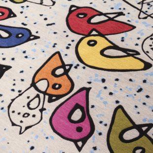 design: woven forms alla biennale di venezia. Renate Muller, dettaglio