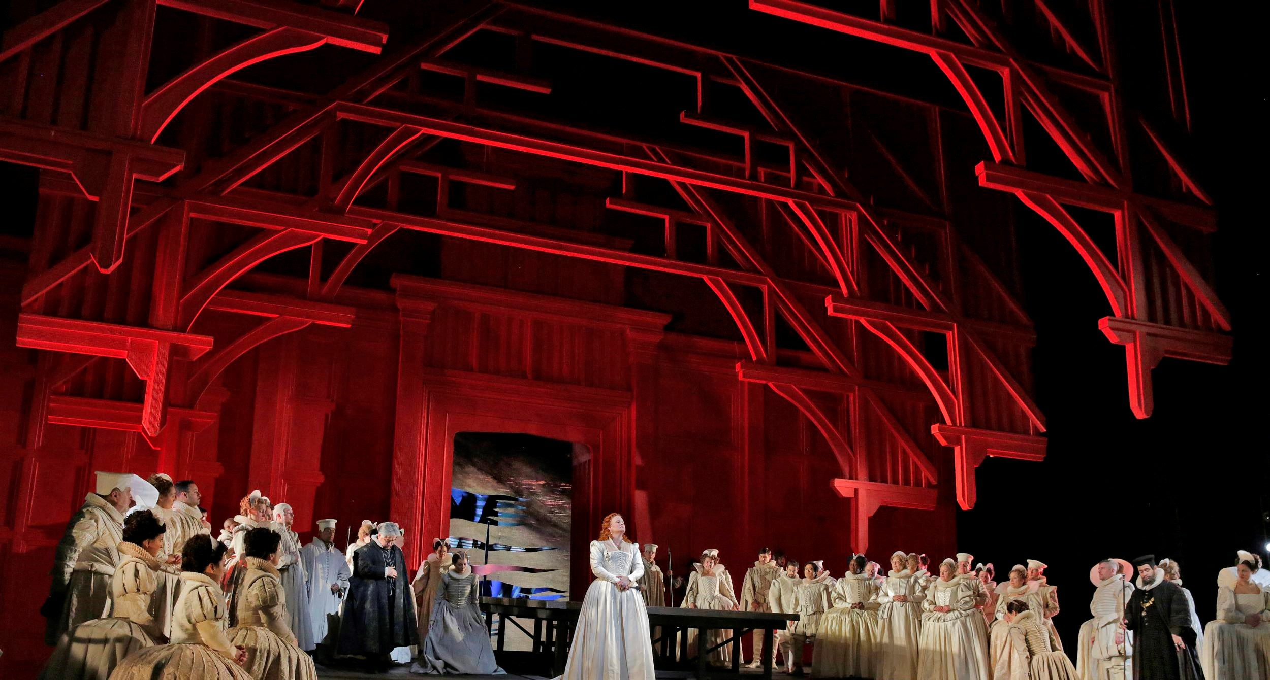 Maria Stuarda Donizetti tragedia donne