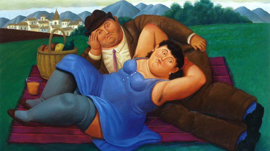 Arte: I 50 anni di Botero a Roma, Picnic