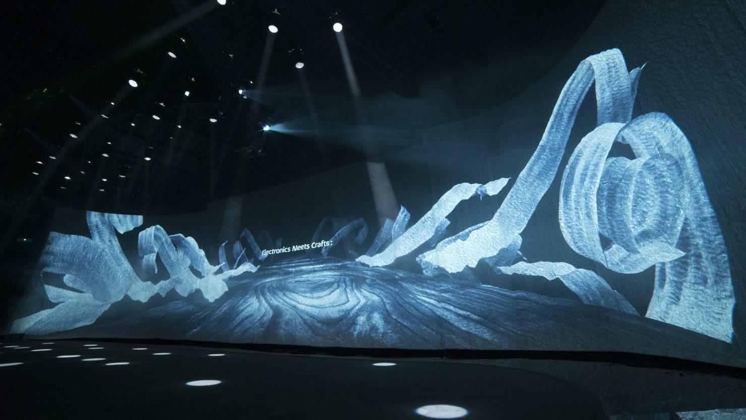 Arte: Panasonic e Accademia di Brera accoppiata vincente al Fuorisalone, Panasonic Electronic Meets Craft