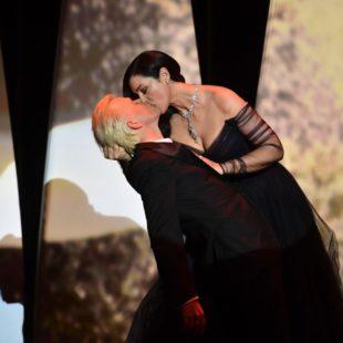 """Moda: Monica Bellucci a Cannes : Dior Black """"Tango"""""""