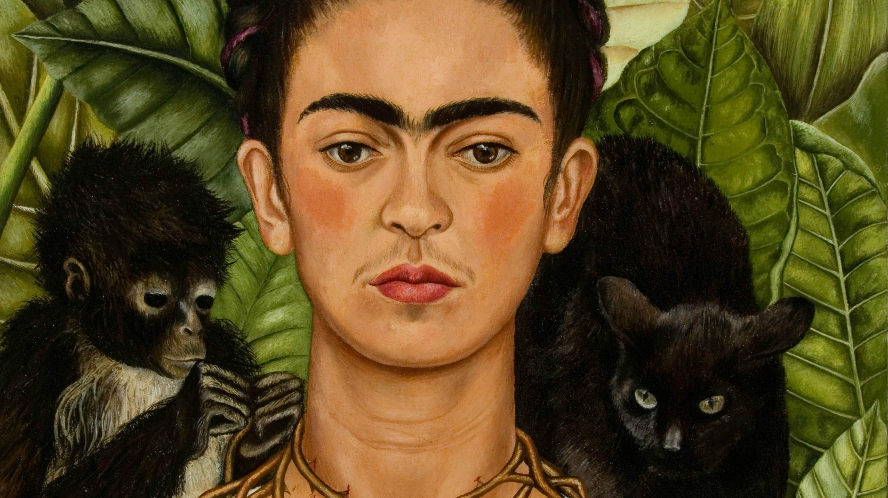 arte: frida kahlo oltre il mito al mudec di milano. oil on alluminium