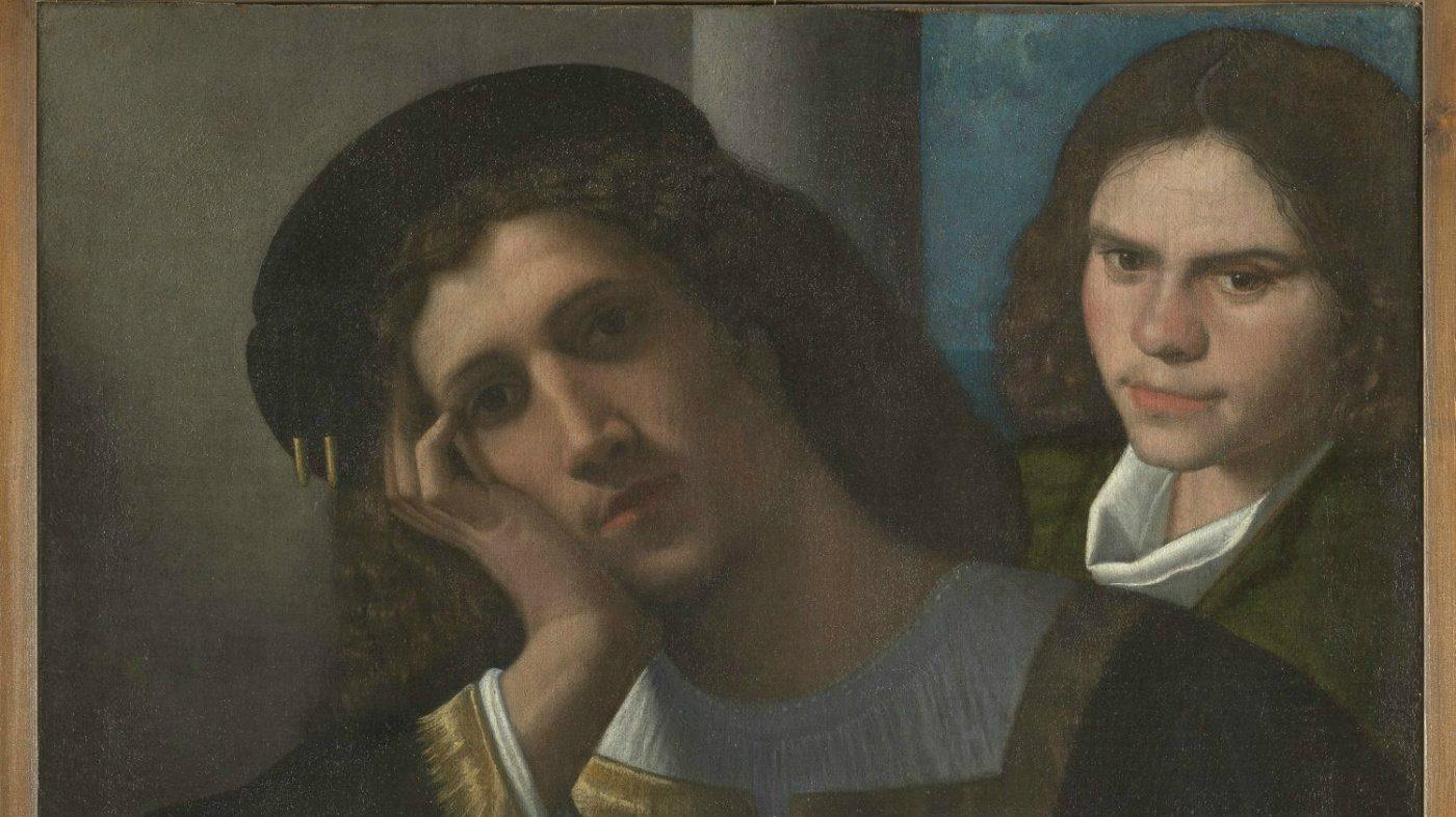 arte: giorgione e il suo senso dell'amore. roma museo di palazzo venezia