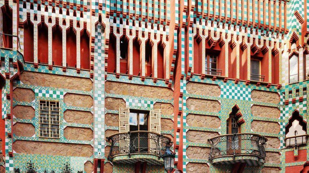 arte: la nuova vita di casa vicens di antoni gaudí. barcellona