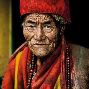 arte: steve mccurry a forte di bard. tibet