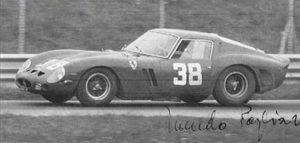 lifestyle motori silver flag castell'arquato vernasca per auto storiche.Nando Pagliarini Ferrari 250 GTO