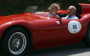 lifestyle motori silver flag castell'arquato vernasca per auto storiche.Stirling Moss su Ossa
