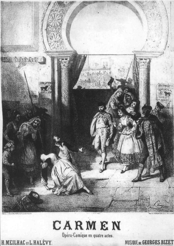 opera: un'introduzione al capolavoro di bizet locandina