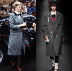 Moda: Lady Diana è ancora un'icona di stile. I suo look sono da ispirazione per Gucci