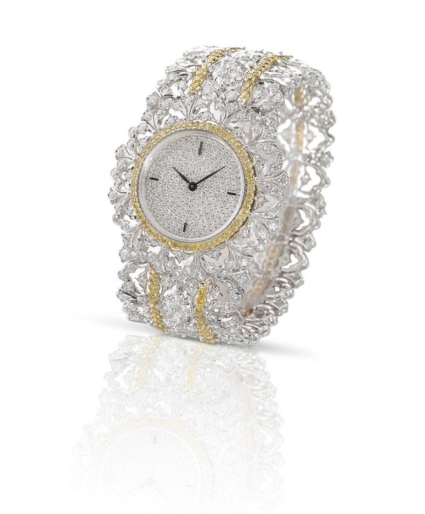 """Lifestyle: Buccellati, la nuova collezione haute couture. L'orologio """"Carlotta""""."""