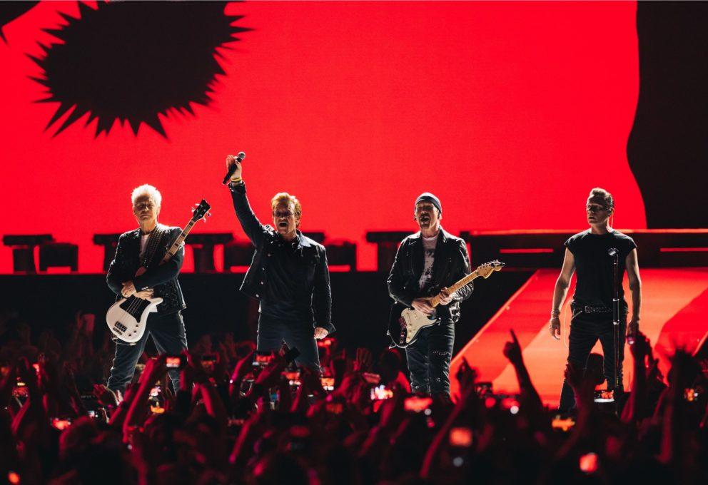 U2 A ROMA: LE IMMAGINI PIÙ BELLE DEL CONCERTO DI DOMENICA