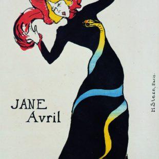 arte: toulouse-lautrec-a-palazzo-reale-milano.Jane Avril