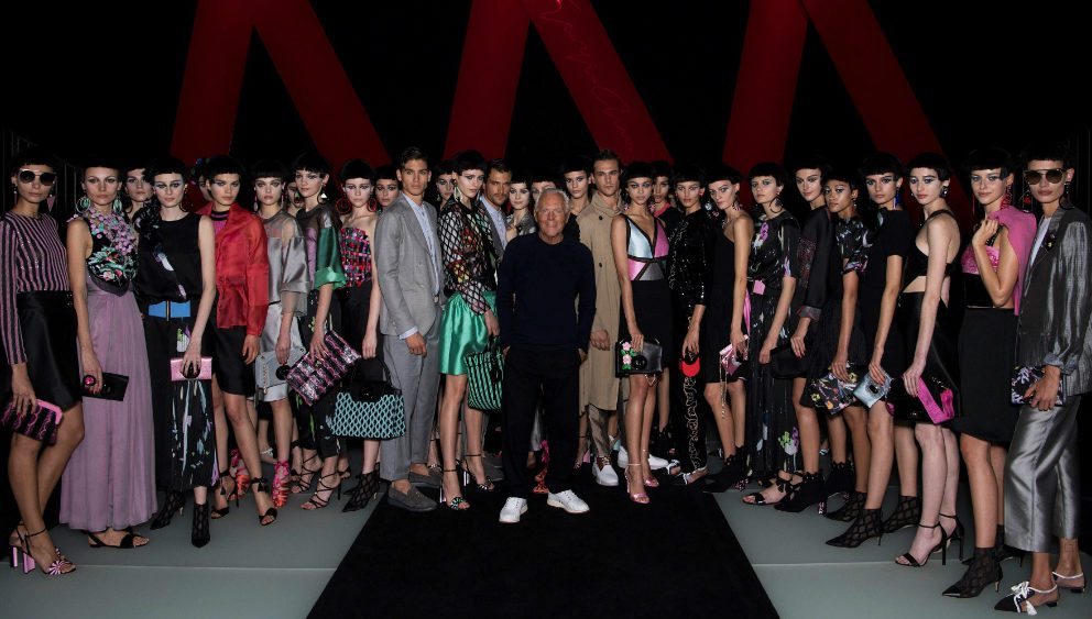 ARMANI SS18: ATELIERS D'ARTISTES