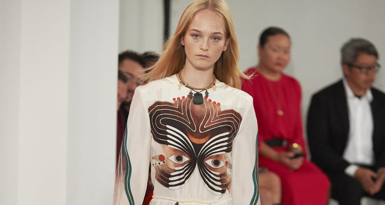 SS18 Paris Fashion Week. Chloe
