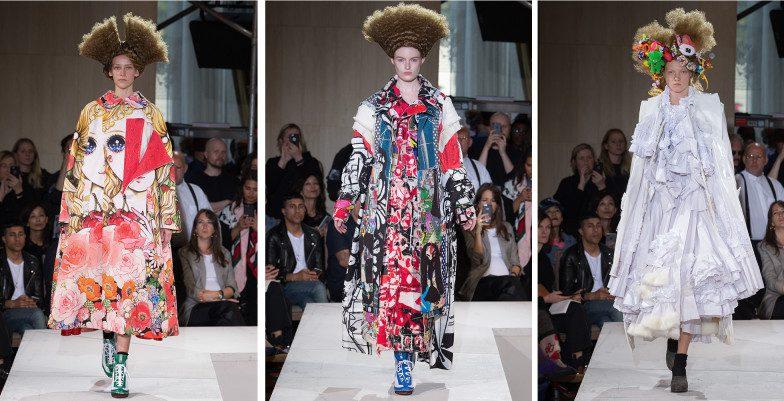 SS18 Paris Fashion Week. Comme Des Garcons