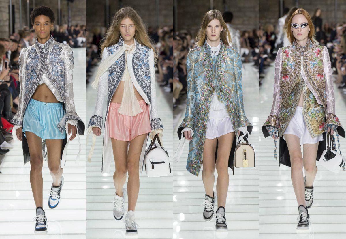SS18 Paris Fashion Week. Louis Vuitton