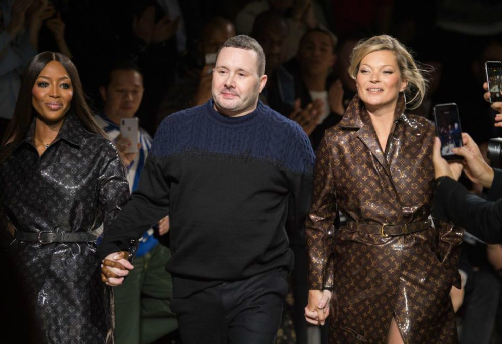 LOUIS VUITTON: L'ADDIO DI KIM JONES CON NAOMI E KATE
