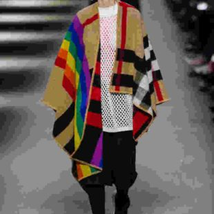 Burberry check rainbow