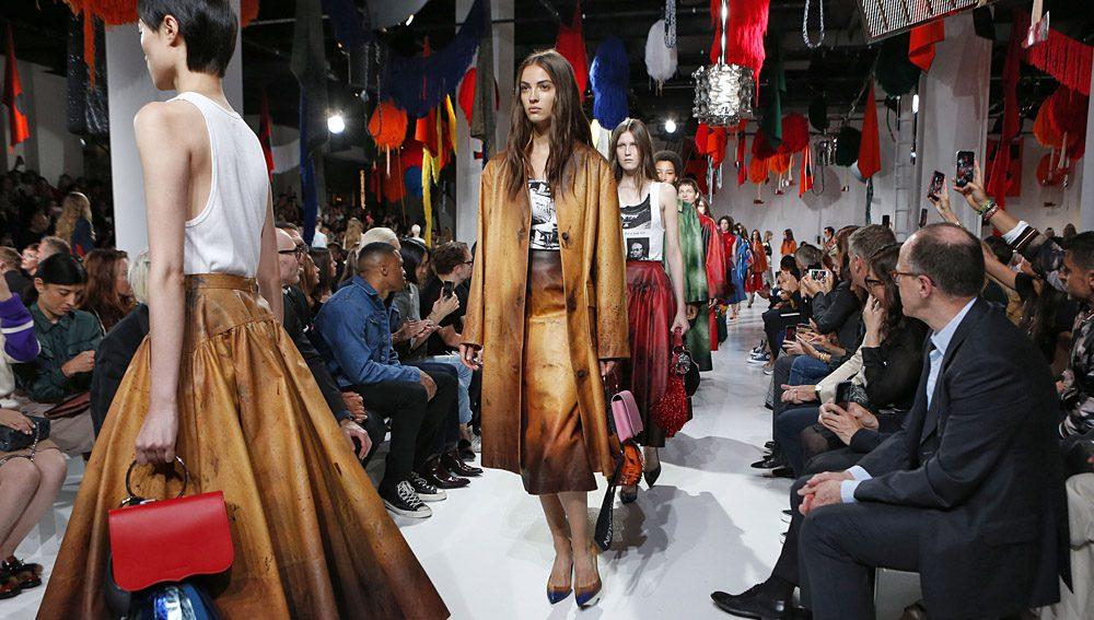 New York Fashion Week Fall 2018. Calvin Klein SS18