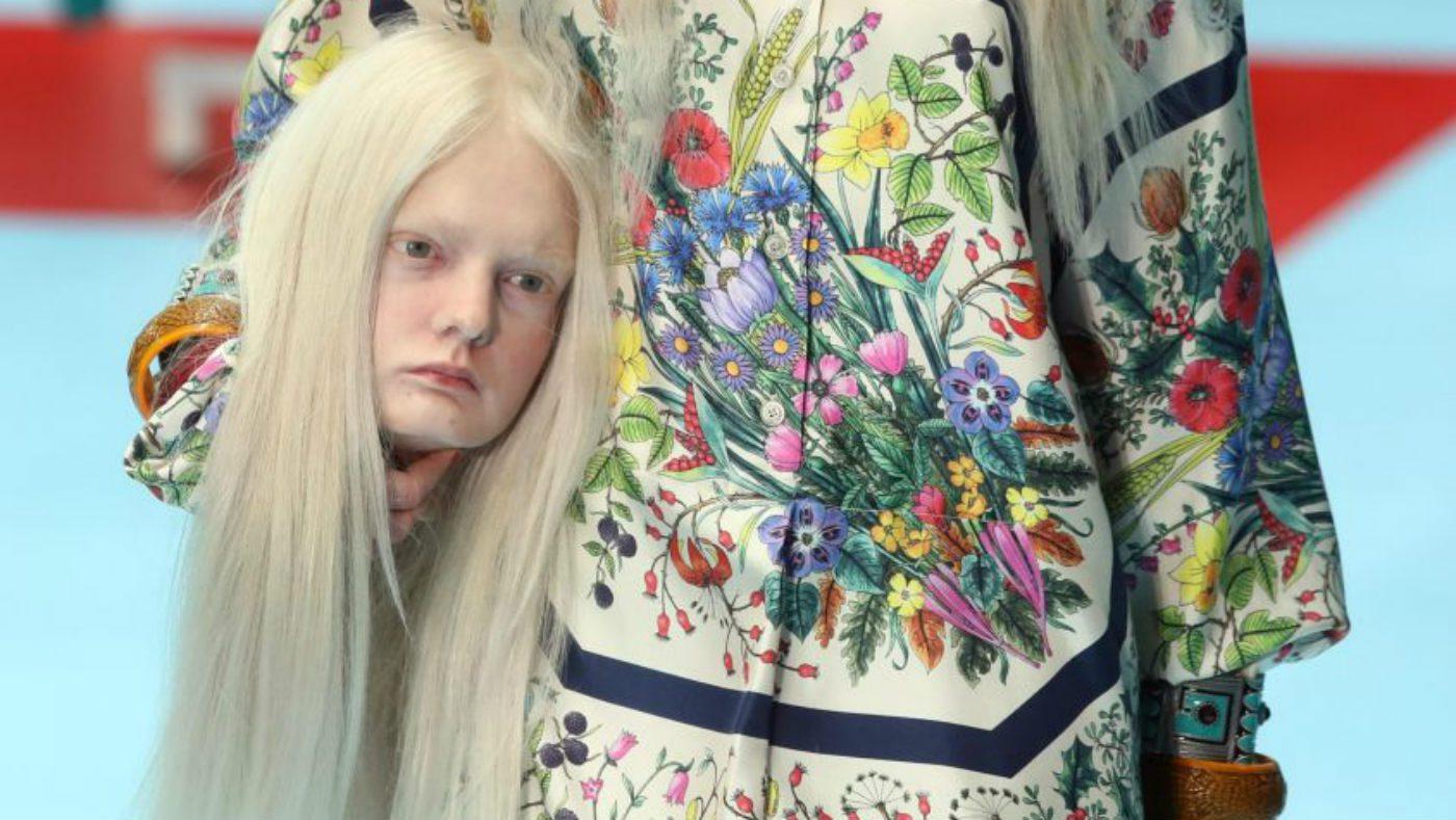 Mame Arte: Gucci 2018-19 l'arte detta la moda
