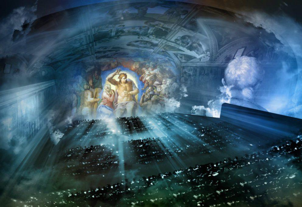 GIUDIZIO UNIVERSALE: MICHELANGELO ALL'AUDITORIUM DI ROMA